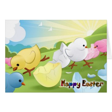 Happy Easter - Staring at the sky Card