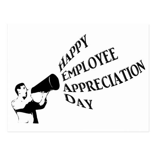 Employee Appreciation Postcards & Postcard Template Designs