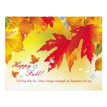 Happy Fall!  Beautiful Autumn Postcards