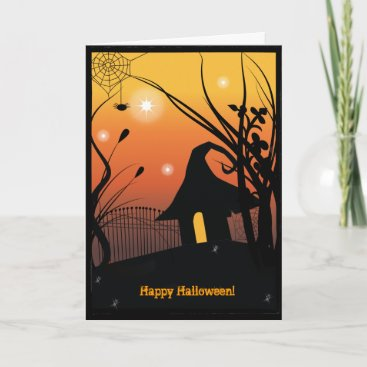 Happy Halloween Greetings - Add your own greeting Card