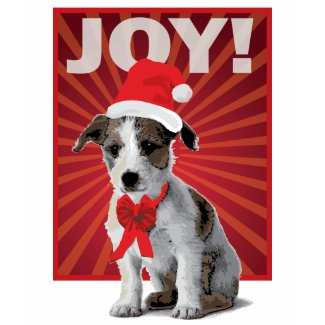 Happy Holiday Dog - Jack Russell shirt