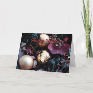 Happy Holidays - Customizable Card