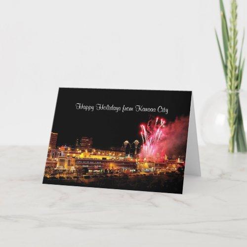 Happy Holidays Fireworks Kansas City Plaza Lights