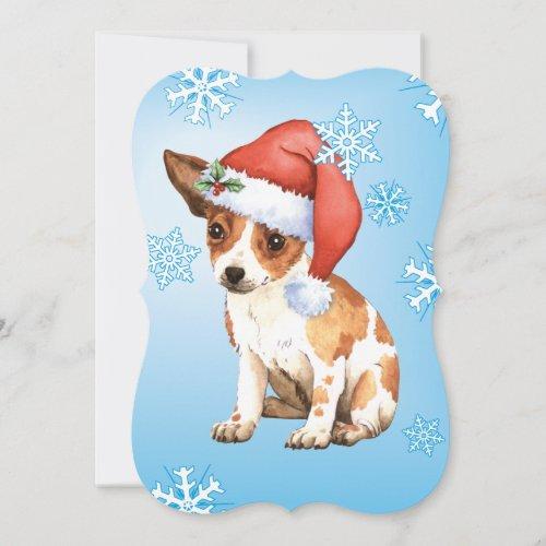 Happy Howlidays Chihuahua Holiday Card