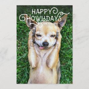 Happy Howlidays | Pet Holiday Photo Card
