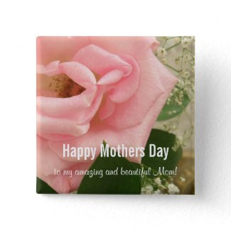 Happy Mothers Day Button zazzle_button