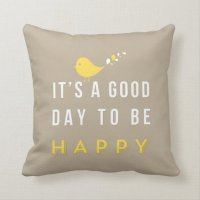Happy pillow sand | Zazzle.com