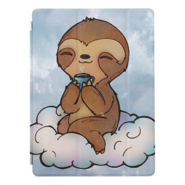 Happy Sloth on a Cloud iPad Pro Cover