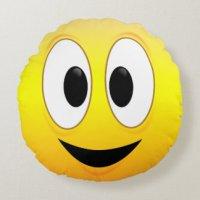 Happy Face Pillows - Decorative & Throw Pillows | Zazzle
