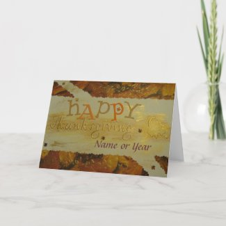 Happy Thanksgiving - Scrapbook - Seasons Card card