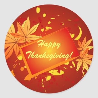 Happy Thanksgiving! - Sticker sticker