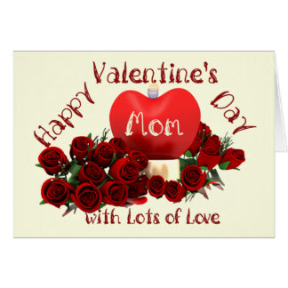 Happy Valentines Day Mom Cards Zazzle