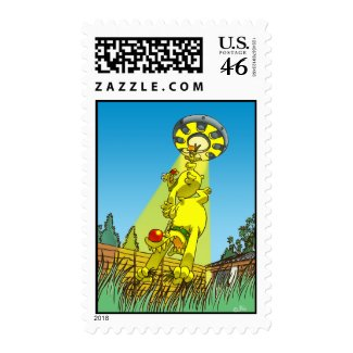 Harry and Henry's abduction postage stamp stamp