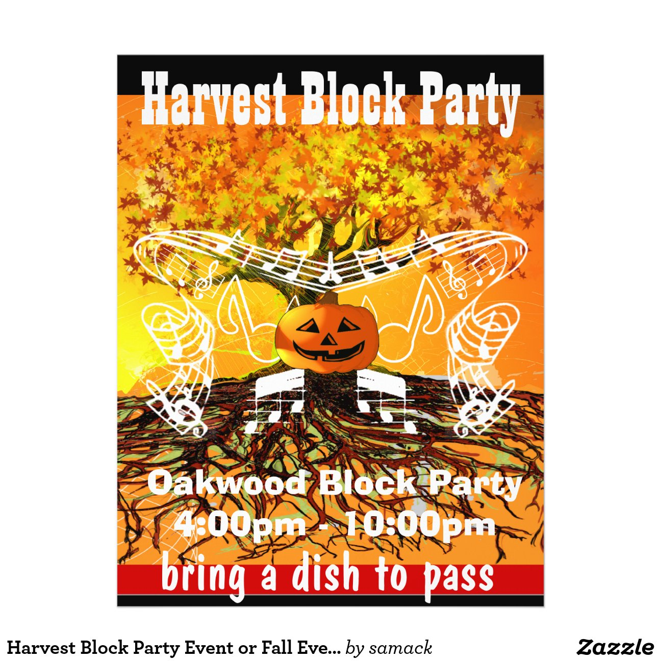 Harvest Block Party Event Fall Flyer-r0f5640a4f15546968c3e411f1c25989d Vgvy7 8byvr 1200