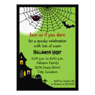 Haunted Halloween Party Invitation