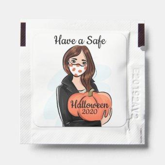 Have a Safe Halloween 2020 Hand Sanitizer Packet