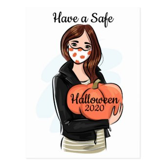 Have a Safe Halloween 2020 Postcard
