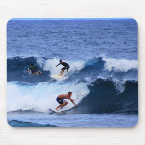 Hawaii Surfers mousepad