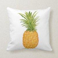 Hawaiian Pineapple Throw Pillows | Zazzle