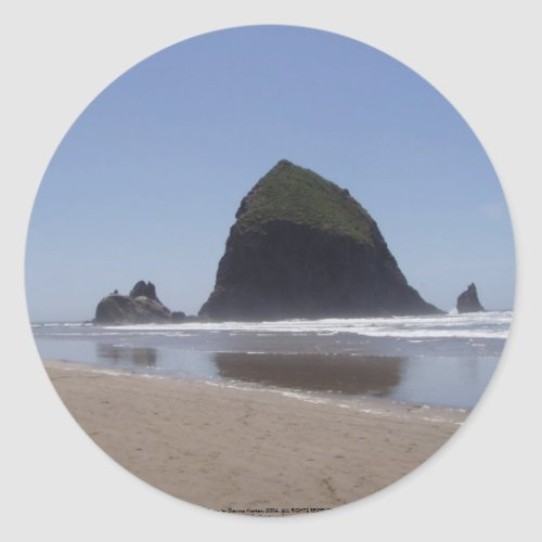 Haystack Rock sticker