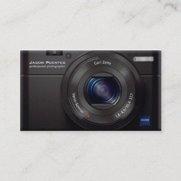 HD Lens Digital Camera Professional Photographer Business Card