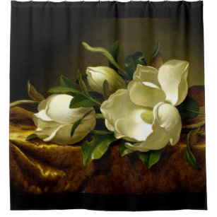 magnolia shower curtains zazzle