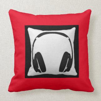 Headphones Pillows  Decorative  Throw Pillows  Zazzle