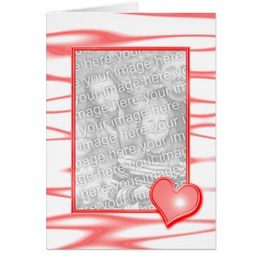 Heart Design (photo frame) Card
