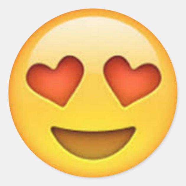 Heart Eyes Emoji Sticker