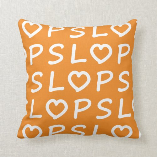 Heart PSL Throw Pillow