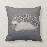 Hedgehog Throw Pillow | Zazzle