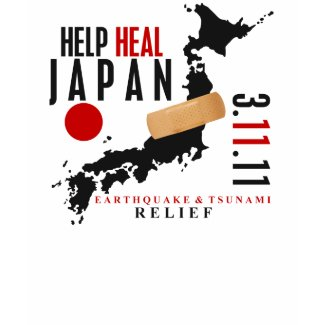 Help Heal Japan 3 T-Shirt