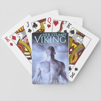 Her Steamy Viking Playing Cards
