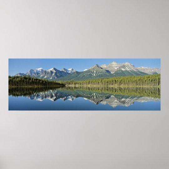 Herbert Lake Banff National Park Canada Poster  Zazzlecom