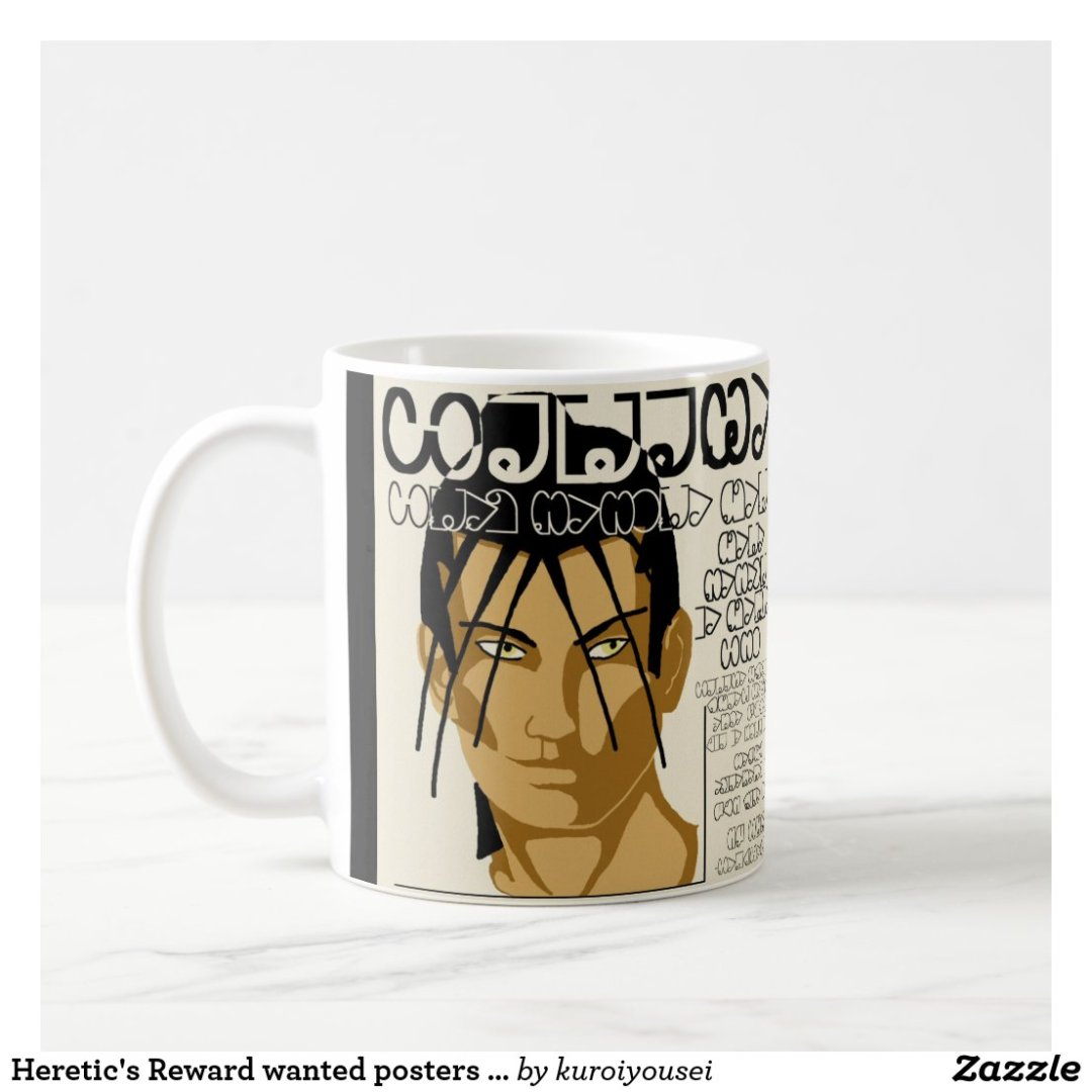 Heretic's Reward wanted posters mug