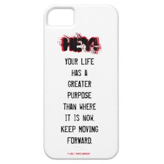 HEY! Read me iphone case - Greater purpose/Forward
