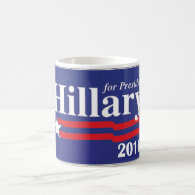 Hillary Clinton For President 2016 Coffee Mug Coffee Mug