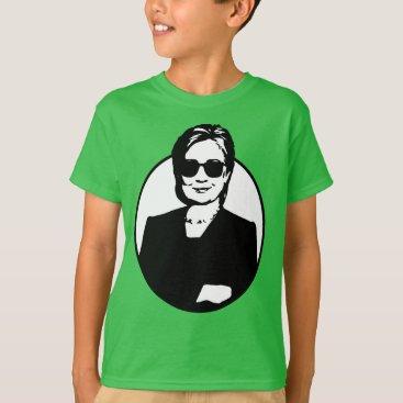 Hillary Clinton is a Badass Kid's Tee