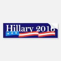 Hillary for President 2016 Bumper Sticker