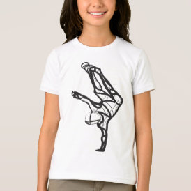 Hip Hop Dance Ringer Tee (Girls)