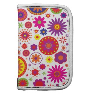 Hippy Rainbow Flowers rickshawfolio