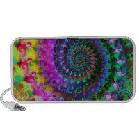 Hippy Rainbow Fractal Pattern doodle