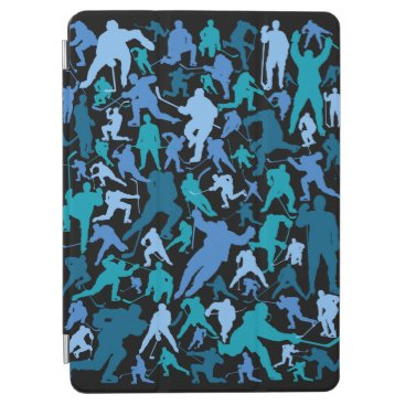 Hockey Player Pattern iPad Air Cover