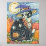 HOCUS POCUS BLACK CAT HALLOWEEN POSTER