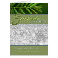 Holiday Card - Season's Greetings - Customized
