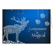 Holiday Compassion is Magical Cards