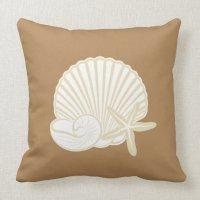 Home Decor Beach Theme Throw Pillow | Zazzle