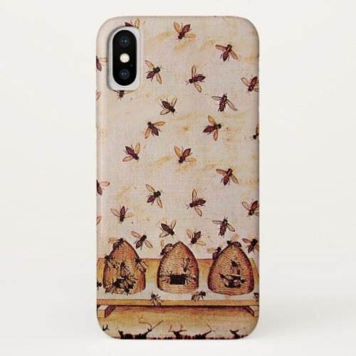 HONEY BEE , BEEKEEPER iPhone X CASE