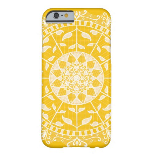 Honey Mandala Barely There iPhone 6 Case