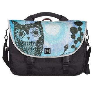 Hoolandia (c) 2013 - Contrast Owl 02 Laptop Commuter Bag